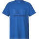 Bergans Happy Camper Tee Men Fjord/Dark Steel Blue/Summersky